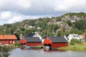 Norwegen Häuser