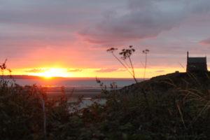 Normandie Sonnenuntergang