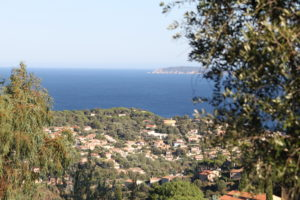Côte d'Azur Küste