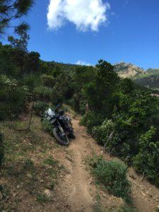 Sardinien Trail F800GS