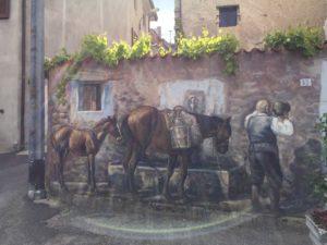 Wandmalerei aus Foni